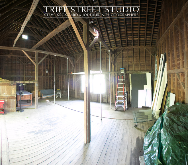 This photography studio at Tripp Street Studio